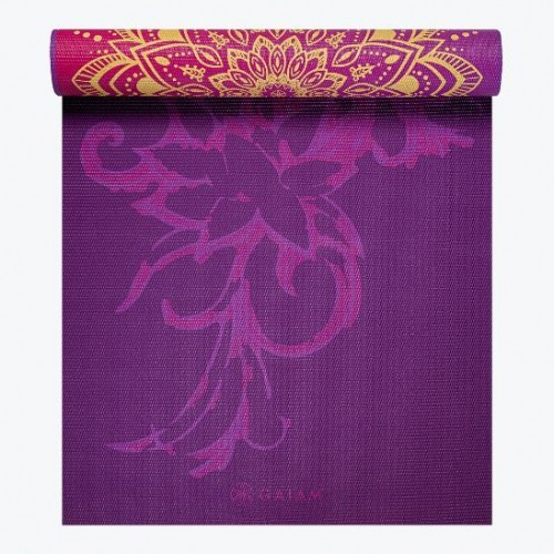 Reversible Royal Bouquet Yoga Mat (6mm)